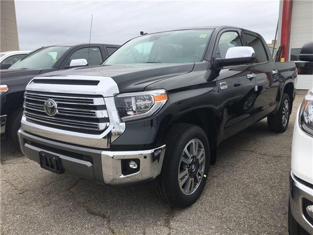 2018 Toyota Tundra Platinum 5.7L V8 (Stk: 8TN111) in Georgetown - Image 1 of 7