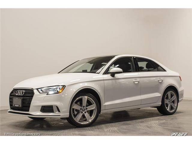 2018 Audi A3 2.0T Progressiv (Stk: T15223) in Vaughan - Image 1 of 7