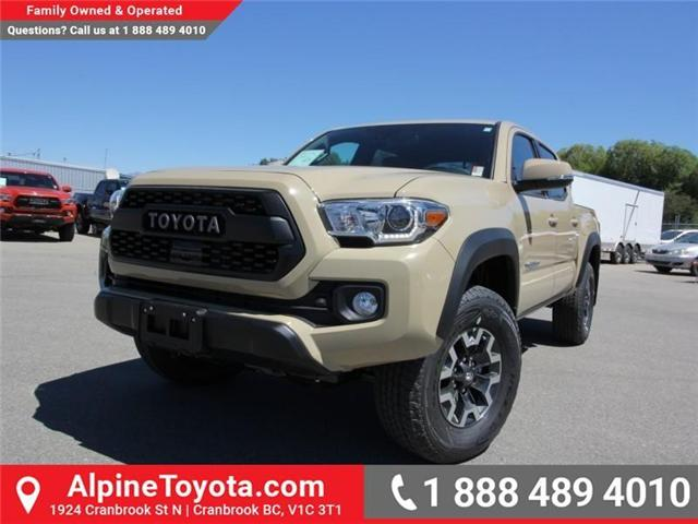 2018 Toyota Tacoma TRD Off Road (Stk: X151380) in Cranbrook - Image 1 of 17