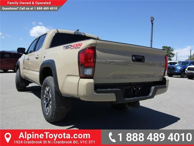 2018 Toyota Tacoma TRD Off Road (Stk: X151380) in Cranbrook - Image 2 of 17