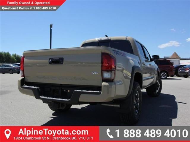 2018 Toyota Tacoma TRD Off Road (Stk: X151380) in Cranbrook - Image 4 of 17