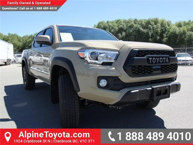 2018 Toyota Tacoma TRD Off Road (Stk: X151380) in Cranbrook - Image 6 of 17