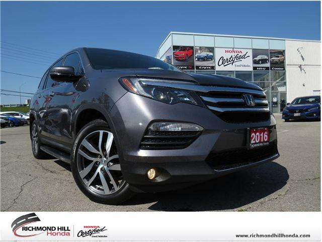 2016 Honda Pilot Touring (Stk: 1984P) in Richmond Hill - Image 1 of 27