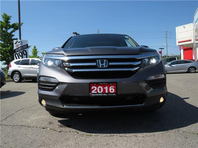 2016 Honda Pilot Touring (Stk: 1984P) in Richmond Hill - Image 2 of 27