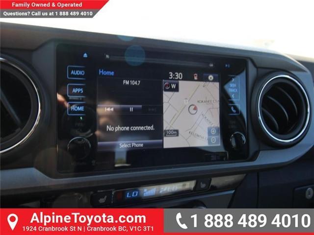 2018 Toyota Tacoma SR5 (Stk: X036540) in Cranbrook - Image 13 of 19