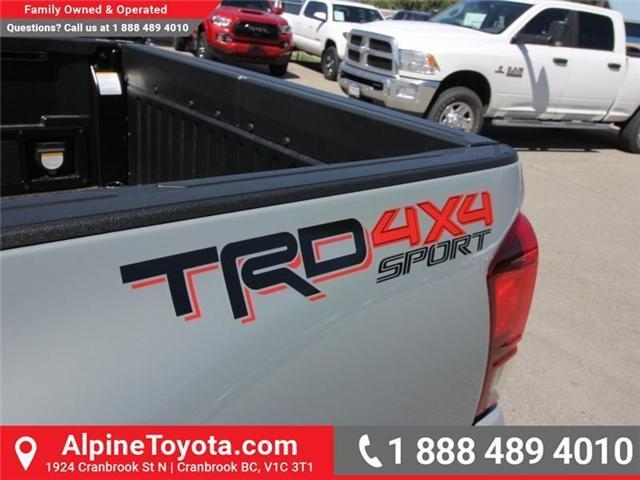 2018 Toyota Tacoma SR5 (Stk: X036540) in Cranbrook - Image 18 of 19