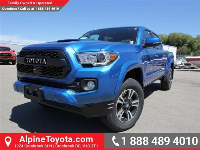 2018 Toyota Tacoma SR5 (Stk: X036639) in Cranbrook - Image 1 of 19