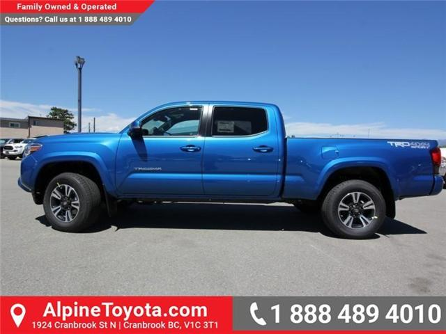 2018 Toyota Tacoma SR5 (Stk: X036639) in Cranbrook - Image 2 of 19