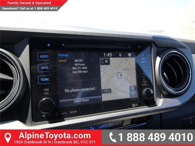 2018 Toyota Tacoma SR5 (Stk: X036639) in Cranbrook - Image 13 of 19