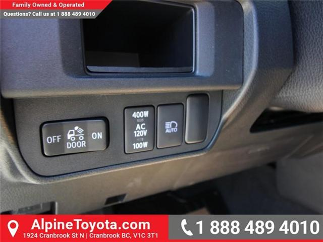 2018 Toyota Tacoma SR5 (Stk: X036639) in Cranbrook - Image 16 of 19