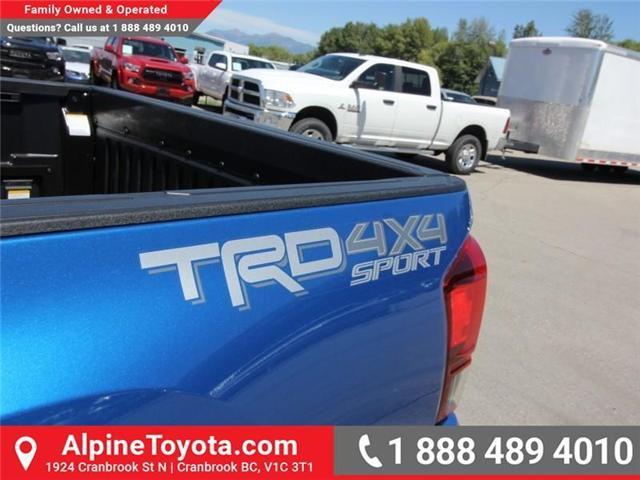 2018 Toyota Tacoma SR5 (Stk: X036639) in Cranbrook - Image 18 of 19