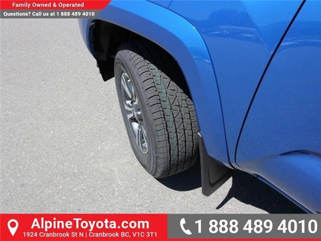 2018 Toyota Tacoma SR5 (Stk: X036639) in Cranbrook - Image 19 of 19
