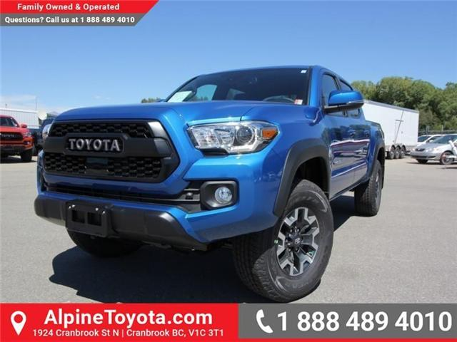 2018 Toyota Tacoma TRD Off Road (Stk: X149750) in Cranbrook - Image 1 of 17
