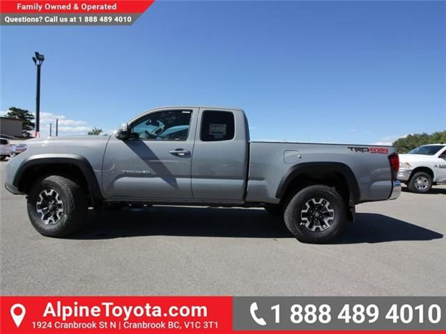 2018 Toyota Tacoma TRD Off Road (Stk: X151608) in Cranbrook - Image 2 of 18