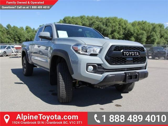 2018 Toyota Tacoma TRD Off Road (Stk: X151608) in Cranbrook - Image 7 of 18