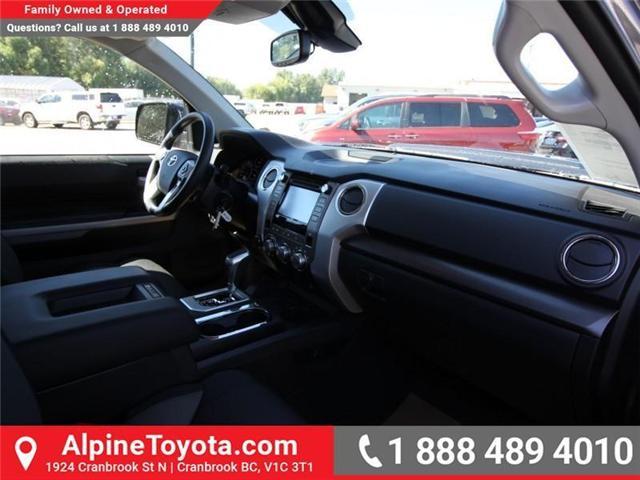2018 Toyota Tundra SR5 Plus 5.7L V8 (Stk: X755172) in Cranbrook - Image 10 of 17