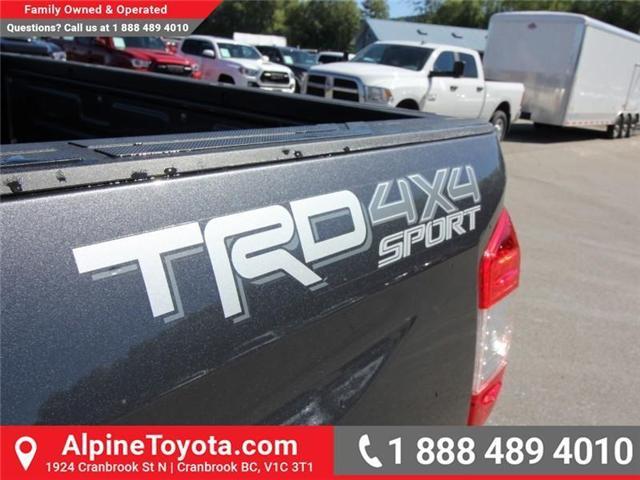 2018 Toyota Tundra  (Stk: X755172) in Cranbrook - Image 16 of 17