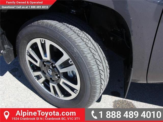 2018 Toyota Tundra  (Stk: X755172) in Cranbrook - Image 17 of 17