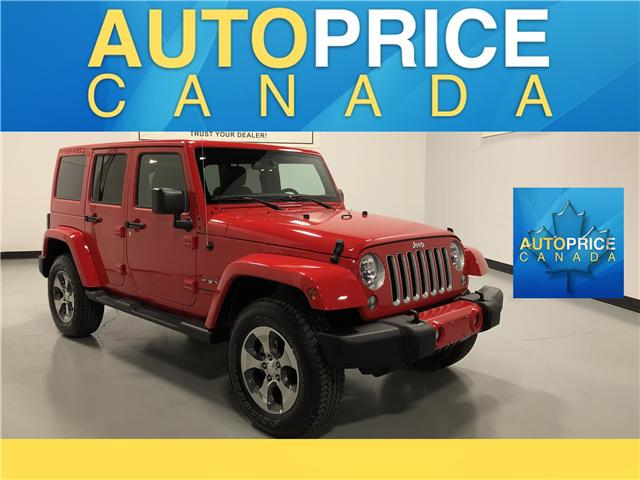 2018 Jeep Wrangler JK Unlimited Sahara (Stk: D9573) in Mississauga - Image 1 of 30