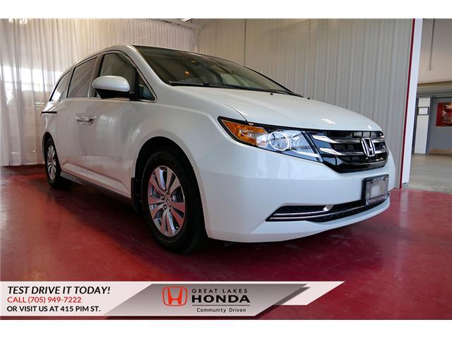 2014 Honda Odyssey EX (Stk: HP525) in Sault Ste. Marie - Image 1 of 26