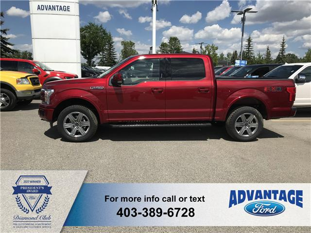 2018 Ford F-150 Lariat (Stk: J-1268) in Calgary - Image 2 of 6