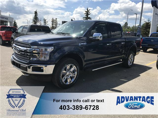 2018 Ford F-150 Lariat (Stk: J-1392) in Calgary - Image 1 of 4