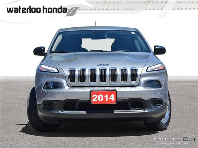 2014 Jeep Cherokee Sport (Stk: H4069A) in Waterloo - Image 2 of 25
