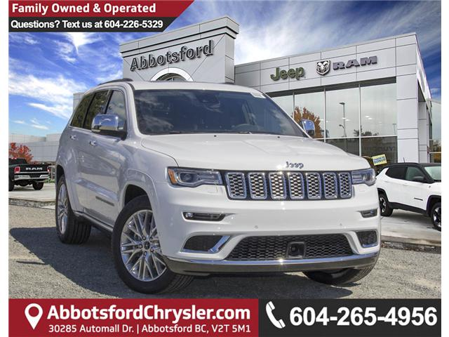 2018 Jeep Grand Cherokee Summit (Stk: J431958) in Abbotsford - Image 1 of 23
