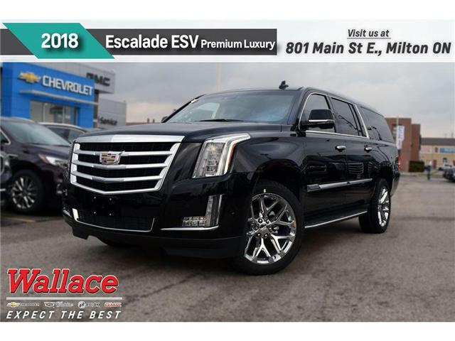 2018 Cadillac Escalade ESV Premium Luxury (Stk: 186387) in Milton - Image 1 of 14