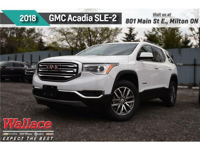 2018 GMC Acadia SLE-2 (Stk: 184766) in Milton - Image 1 of 10