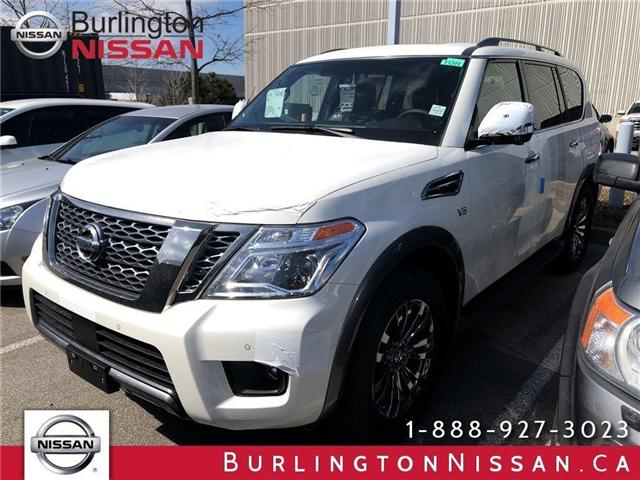 2018 Nissan Armada Platinum (Stk: X4343) in Burlington - Image 1 of 5