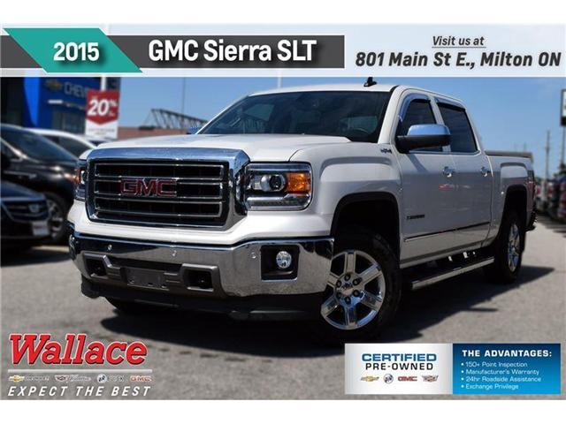 2015 GMC Sierra 1500 SLT/V8/TRAILR PKG/SUNRF/HTD&CLD STS/HTD WHL (Stk: 127552A) in Milton - Image 1 of 20