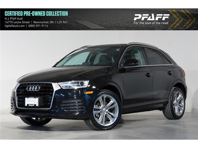 2018 Audi Q3 2.0T Progressiv (Stk: 52802) in Newmarket - Image 1 of 17