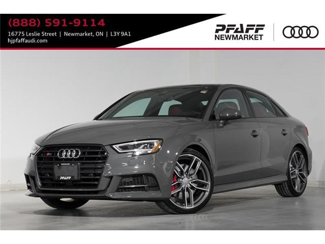 2018 Audi S3 2.0T Technik (Stk: A11328) in Newmarket - Image 1 of 20