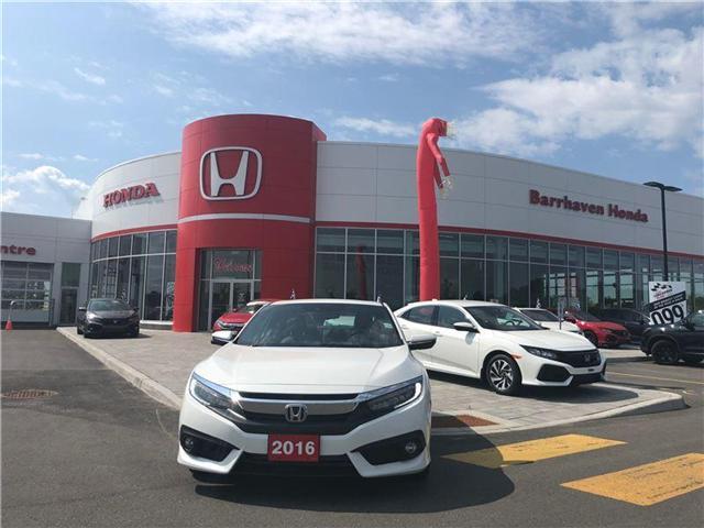 2016 Honda Civic Touring (Stk: B0092) in Nepean - Image 1 of 21