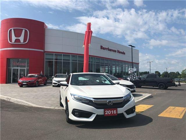 2016 Honda Civic Touring (Stk: B0092) in Nepean - Image 2 of 21