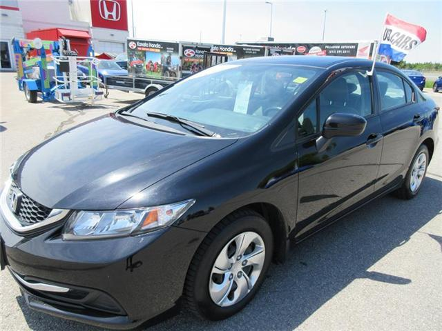 2014 Honda Civic LX (Stk: U1032) in Kanata - Image 1 of 17