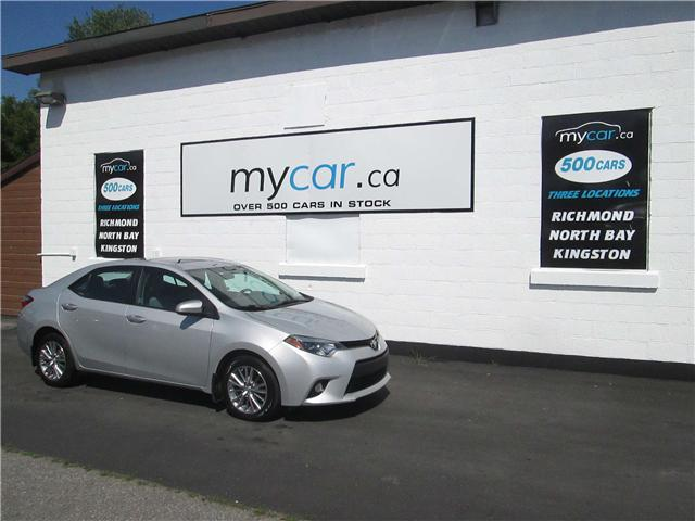 2014 Toyota Corolla LE (Stk: 180827) in North Bay - Image 2 of 10