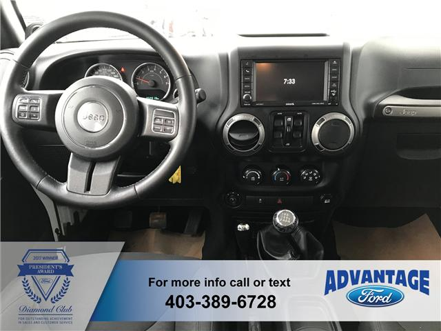 2014 Jeep Wrangler Unlimited Sport (Stk: J-1520A) in Calgary - Image 2 of 15
