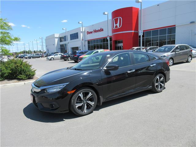 2016 Honda Civic Touring (Stk: 25386A) in Ottawa - Image 1 of 8