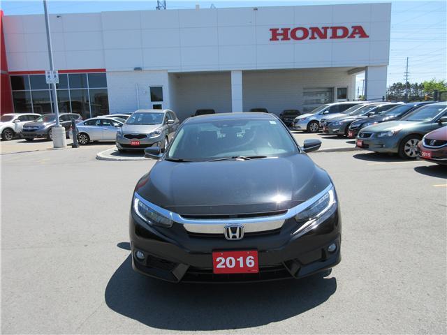 2016 Honda Civic Touring (Stk: 25386A) in Ottawa - Image 2 of 8