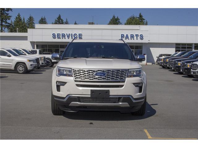 2018 Ford Explorer Platinum (Stk: 8EX9719) in Surrey - Image 2 of 27