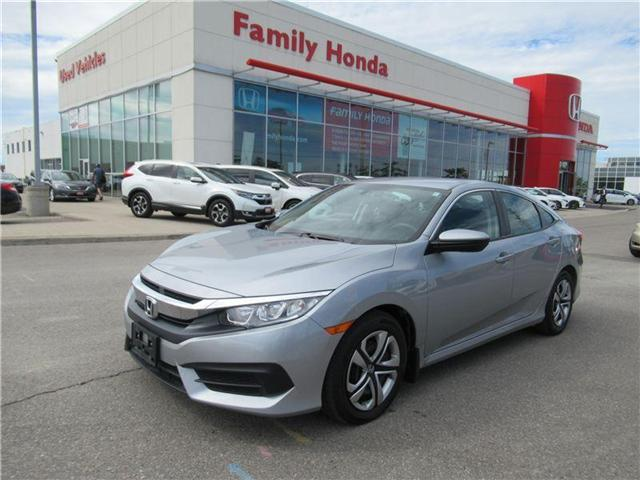 2017 Honda Civic LX, FREE EXTENDED WARRANTY! (Stk: 8002375A) in Brampton - Image 1 of 27
