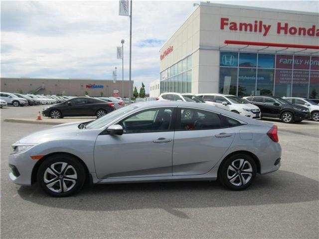 2017 Honda Civic LX, FREE EXTENDED WARRANTY! (Stk: 8002375A) in Brampton - Image 2 of 27