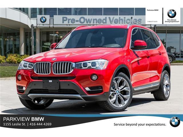 2015 BMW X3 XDrive28i Stk PP8051 In Toronto