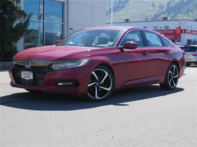 2018 Honda Accord Sport (Stk: N13777) in Kamloops - Image 1 of 22