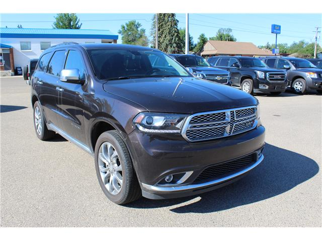 2017 Dodge Durango Citadel (Stk: 195500) in Brooks - Image 1 of 30