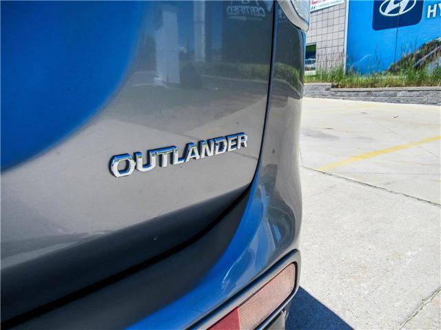 2015 Mitsubishi Outlander ES (Stk: U06160) in Toronto - Image 19 of 24