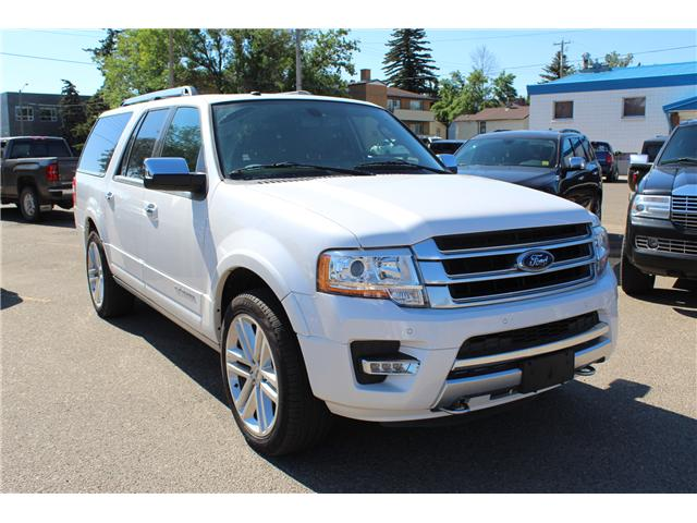 2017 Ford Expedition Max Platinum (Stk: 195703) in Brooks - Image 1 of 28