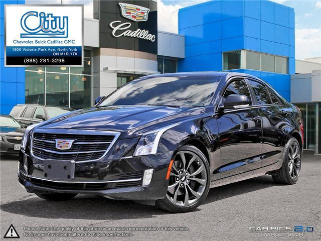2015 Cadillac ATS 2.0L Turbo Performance (Stk: R11985) in Toronto - Image 1 of 27